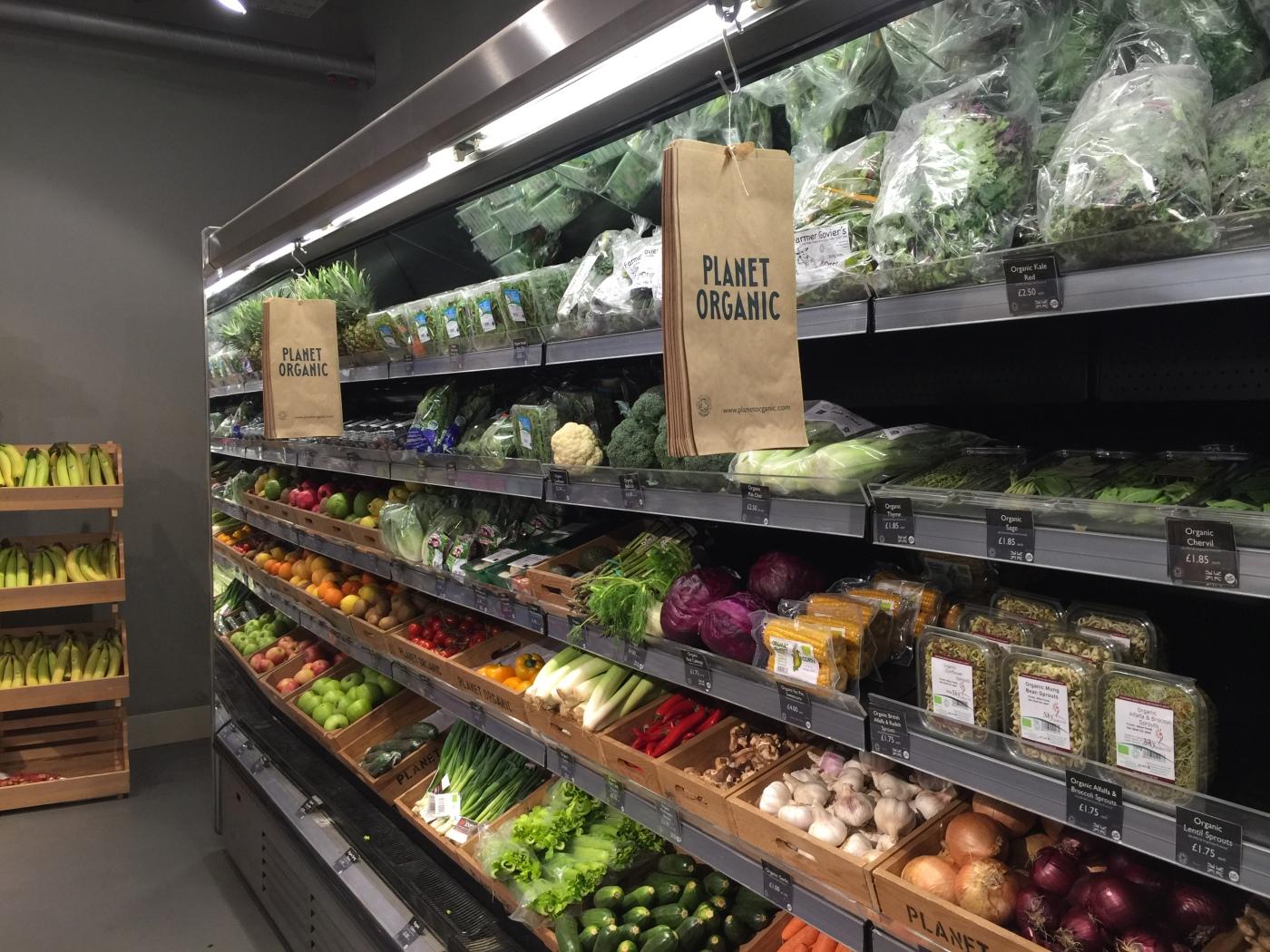 For noen flotte økologiske grønnsaker.